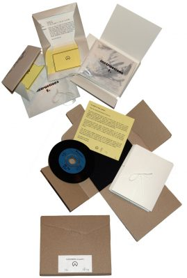 Avant Garde below Zero, Geoffrey de Beer   edition of 20   CD+instructions in cardboard folder   2010