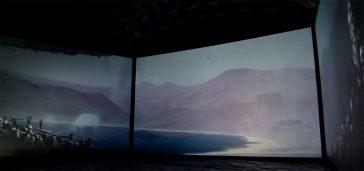 ISIS Arts. The White Hide [III]. Berwick Film and Media Arts festival, UK