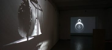 Installation view @ Van Stof Tot Asse triannual, Asse (B), 2014, loop & film