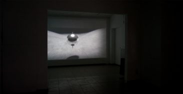 Installation view @ Van Stof Tot Asse triannual, Asse (B),  2014, film