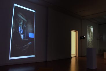 video installation, solo show, solo exhibition I.M. Dog, Star overview