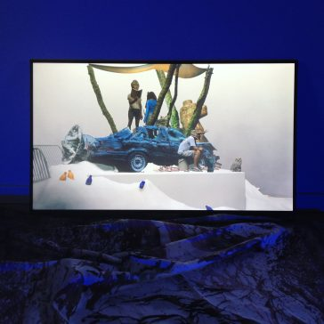 Millennial.spike, Alexandra Crouwers, 2018. Digital 3D animation, diorama